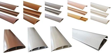 Kabelgoot, kabelgoot, pvc of aluminium, zelfklevend, in verschillende breedtes, afmetingen kabelgoot: 70 mm, kleur kabelka...