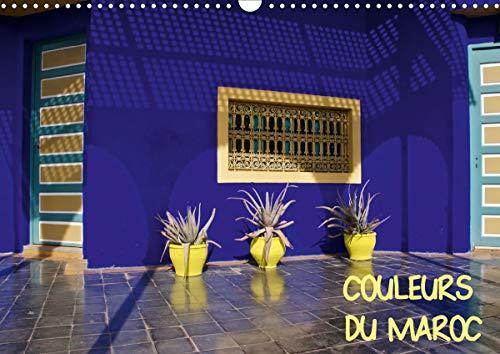COULEURS DU MAROC (Calendrier mural 2021 DIN A3 horizontal)