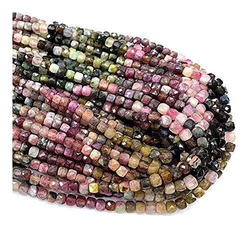 DFUF Hermoso Regalo Collar Natural Pulseras Pendientes Anillo Piedras Gemas Bricolaje Cubos Irregulares facetados pequeños Perlas para la fabricación de Joyas