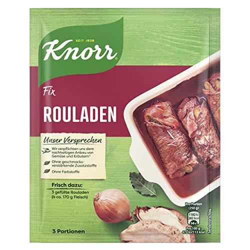 Knorr Fix Würzbasis Rouladen (mit herzhafter Bratensauce) 3 Portionen, 31g