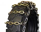 Quality Chain 1502HDSL-2 8mm Square Link Alloy Skid Steer Tire Chains