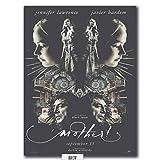 NFGGRF Posters ¡Madre!2017 película película Javier Bardem Cartel artístico Lienzo Pintura Sala de Estar decoración del hogar-50x70cm sin Marco