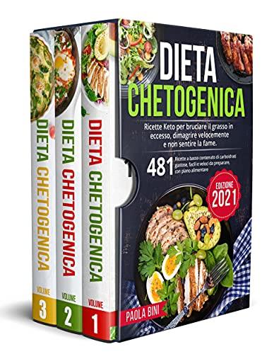 DIETA CHETOGENICA : Ricette Keto per bruciare il grasso in eccesso, dimagrire velocemente e non sentire la fame