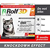 Rolf Club 3D FLEA Collar for Dogs - Flea and Tick Prevention for Dogs