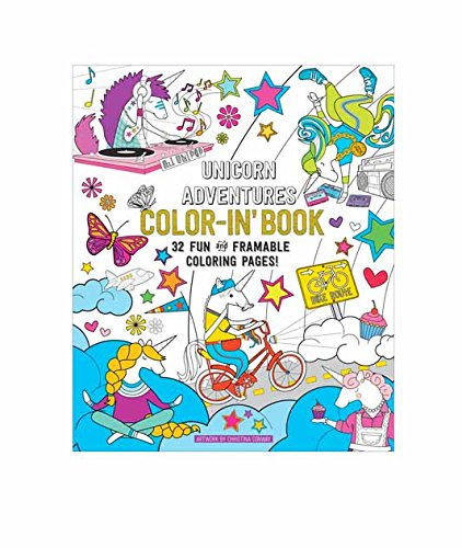 "OOLY, Coloring Book, Unicorn Adventures, 32 Pages, 9"" x 12"" (118-159)"