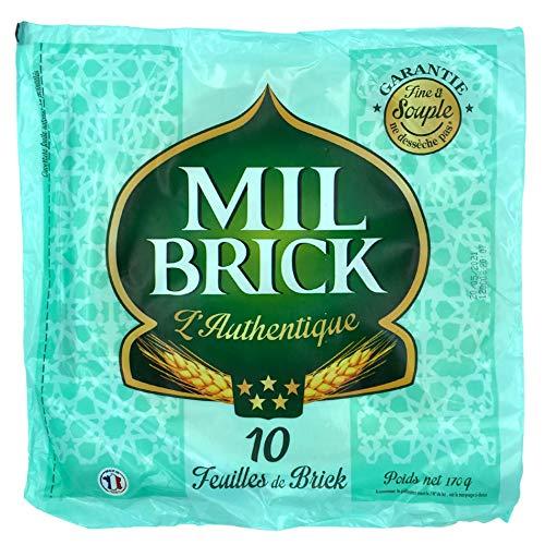 Mil Brick Brick-Teig, rund, ca. ø 27cm, hauchdünn, 170g, 10 Blatt