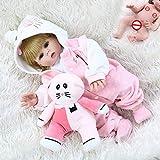 SN86NS 48 cm Vollsilikon Reborn Dolls Baby Realistische Puppe Wiedergeboren 19 Zoll Vollvinyl Boneca...