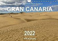 Die Canarischen Inseln - Gran Canaria (Wandkalender 2022 DIN A4 quer): Erleben Sie in 13 wunderschoenen Farbfotografien die Gegensaetze auf dieser beeindruckenden Insel (Monatskalender, 14 Seiten )