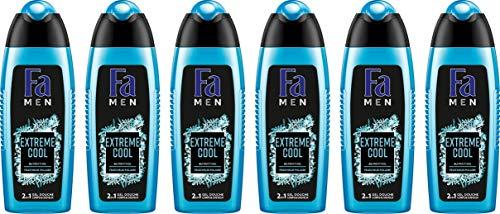 Fa Men - Gel Douche - Extreme Cool - 250 ml - Lot de 6
