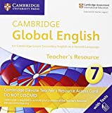 Cambridge Global English Stage 7 Cambridge Elevate Teacher's Resource Access Card: for Cambridge Lower Secondary English as a Second Language