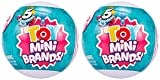 5 Surpise Toys Mystery Capsule Real Miniature Brands Collectible Toy by Zuru (2 Pack) - Series 3