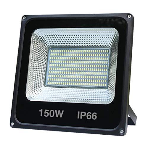 Mysida floodlight Projecteur LED étanche IP66 étanche extérieur pour projecteur de Jardin, Garage, entrepôt, Jardin, Rues Ect (2 pièces) (Couleur : Warmyellow, Taille : 200W)