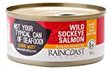 Raincoast Trading Wild Sockeye Salmon - Skinless Boneless (Pack of 12)