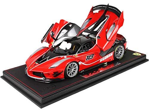 BBR Models BBR 182285 - Ferrari Fxx-K EVO Rosso Corsa #18 - Escala 1/18 - Modelo Coleccionable