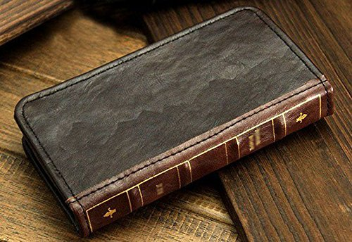 Retro Leather Vintage Book Flip Wallet Card Case Cover for Samsung Galaxy Phones (Galaxy Note 8)