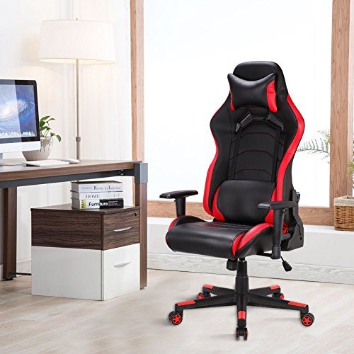 Gaming Stuhl Schreibtischstuhl Bild 6*