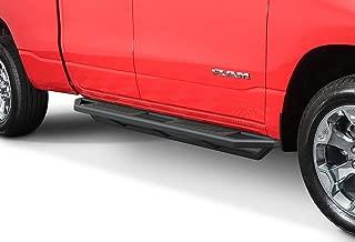 APS iArmor 6.5in Nerf Bars Square Tube Rocker Guards Custom Fit 19-20 Dodge Ram 1500 Quad Cab