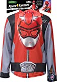 Rubies - Power Rangers para disfraz, niño, unisex, I-300672, rojo