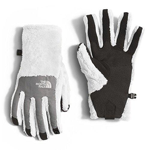 The North Face Denali Thermal Etip Glove Womens TNF White/Mid Grey Medium