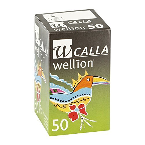 Wellion Calla Blutzuckerteststreifen 50 stk by Wellion