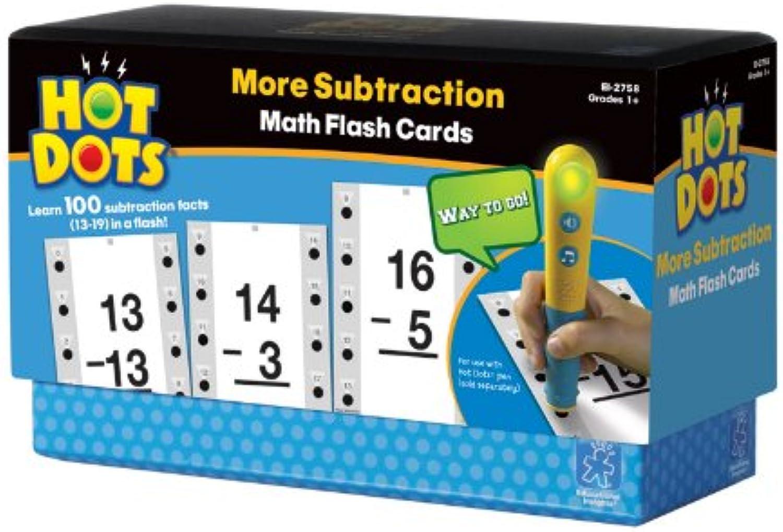 Learning ResourcesHot Dots Matheübungskarten mit mehr Differenzbildungen