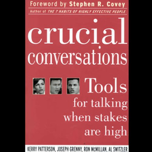 Crucial Conversations audiobook cover art