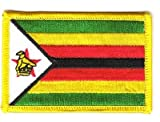 Flaggen Aufnäher Patch Simbabwe Fahne Flagge NEU