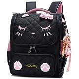 Backpack for Kids Grils, Cute Cat School Bags Toddler Backpacks Preschool Primary...