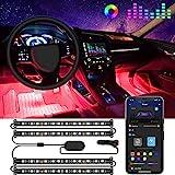 Govee Interior Car Lights, LED Car Strip Lights with 2 Lines Waterproof Design,...