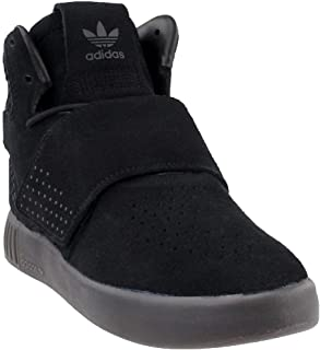 adidas Mens Tubular Invader Strap Athletic & Sneakers Black