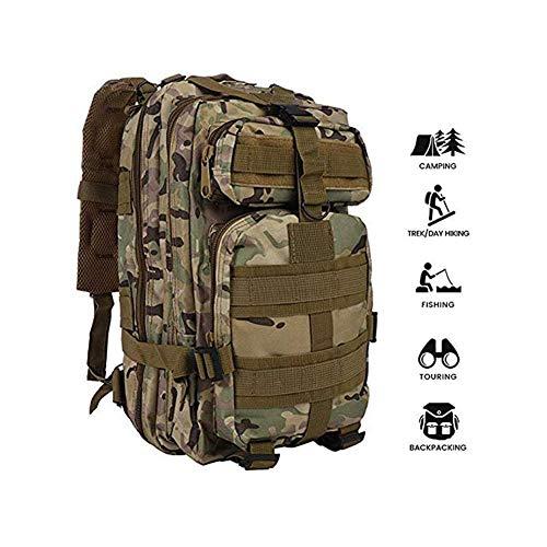 G X Mochila táctica  Militar de 25 litros  MOLLE  de Combate  para Senderismo  Camping