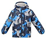 Arctic Paw Boys Warm Winter Outdoor Ski Jacket with Hood, Boy_6_5-6Y