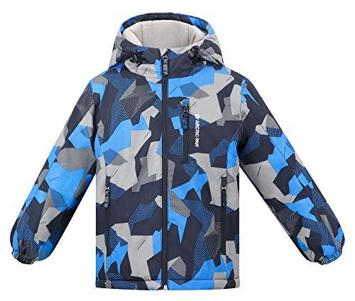 Arctic Paw Kids Waterproof Snow Jackets Windproof Boys Ski Jacket, Boy_12_11-12Y