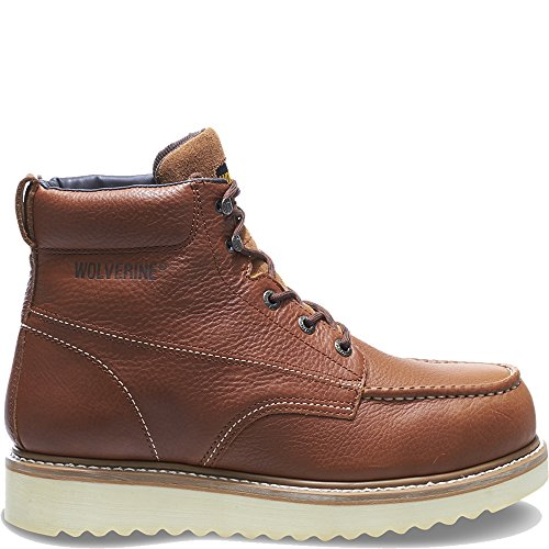 Wolverine Men's W08289 Wolverine Steel Toe Boot,Honey,7 XW US