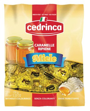 Cedrinca Honey Miele Italian Hard candy