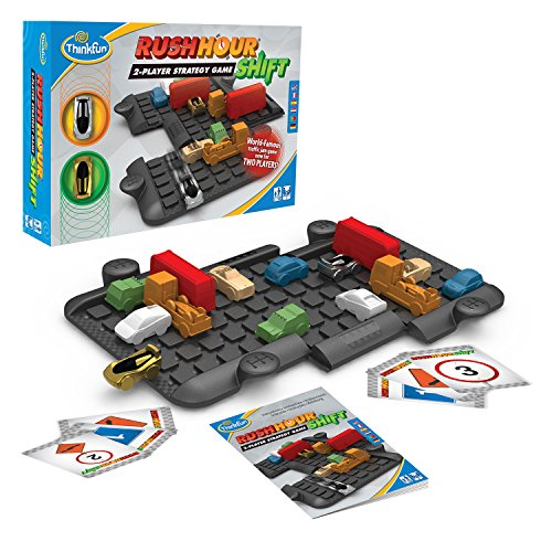 Think Fun Rush Hour Shift Two Player Strategy Game  A Two Player Version of International Rush Hour