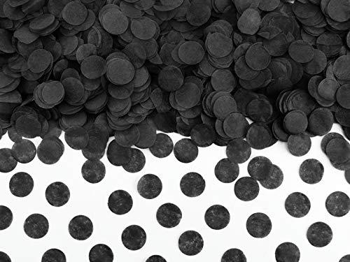 Di&Gi Confetti Papier Circolari - 15 Gr. - Schwarz
