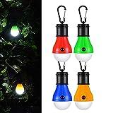 Lanterne de camping LED Lanterne Lampe led Torche ultra lumineuse lumière d'urgence Lanterne ampoule(Lot de 4),COB150 Lumens lampe portable pour camping randonnée pêche les Activités de Alpinisme