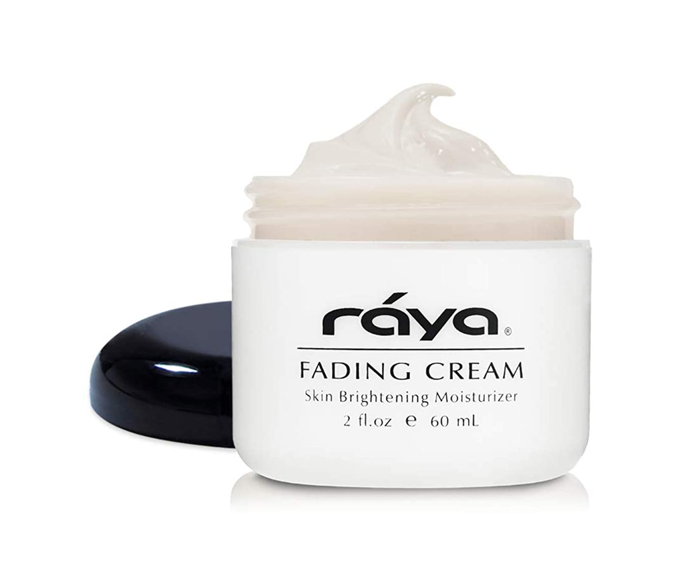 寛大さ衝突ドメインRaya フェージングクリーム(321) ノンオイリー肌のためのブライトニングと保湿フェイスクリーム 肌を明るく支援します 最良の結果は4-6週間後に見られています 2 fl-oz