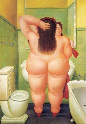 Botero 09 Poster cm 35x50 Affiche Plakat Fine Art Il Negozio di Alex