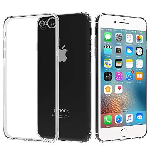 Migeec Cover per iPhone 6s E iPhone 6 - Ibrido Cristallino Custodia Cuscino d'Aria Tecnologia paraurti in Gel Custodie telefoniche a Protezione Completa per iPhone 6s E iPhone 6