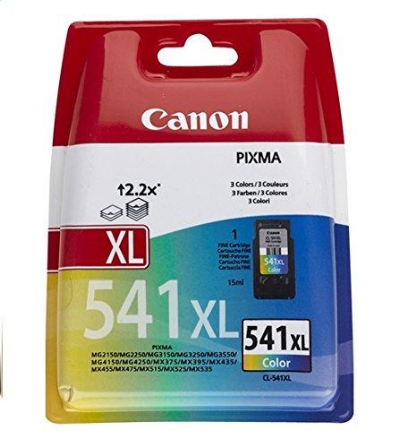 Canon CL-541 XL Druckerpatronen Mehrfarbig - 15 ml für PIXMA Drucker Original