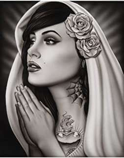 Best mexican mary tattoo Reviews