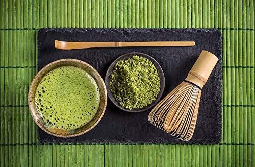 Bio Matcha Tee BANANE Grüntee Pulver + Koffeinpower PureSecrets japanisches Matchapulver