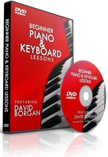 Beginner Piano and Keyboard Lessons DVD - Learn How to Play 15 Songs - 75% Off Sale!