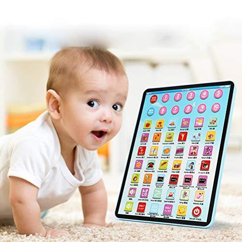 Daxoon Kinder Tablet Spielzeug Smart Touchscreen Kinder Lerntablet für Frühpädagogisches Spielzeug