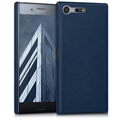 kwmobile Cover Compatibile con Sony Xperia XZ Premium - Custodia Protettiva Matt in Similpelle - Backcover Soft Case Pelle PU per Cellulare