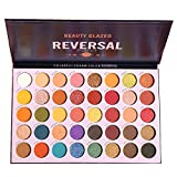 Beauty Glazed High Pigmented Makeup Palette Easy to Blend Reversal Planet 40 Shades Diamond Metallic Foils Matte Professional Eyeshadow Sweatproof and Waterproof Eye Shadow Christmas Gift Set