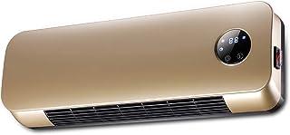 XLOO Radiador Calefactor de Pared,Ajuste de Tres velocidades: 45/1000/2000 W,Pantalla Digital LED,Vertical/Tapiz,Tiempo de 12 Horas Adecuado para el hogar