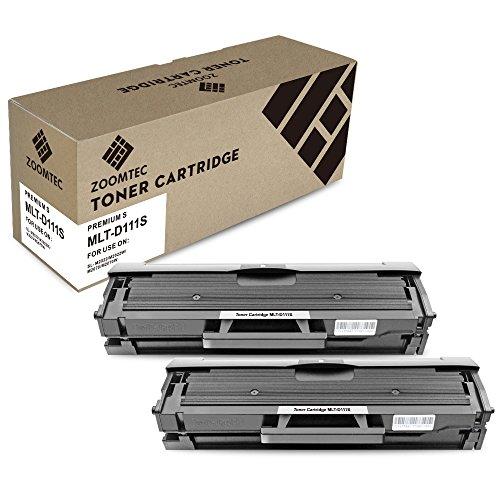 ZOOMTEC compatibele MLT-D111S tonercartridge voor Samsung MLT-D111S Xpress SL-M2070W SL-M2022W SL-M2020W SL-M2026W SL-M2070FW SL-M2078W SL-M2020 SL-M2022 SL-M2026 SL-M2070 Printer High Yield Zwart MLT-D111S Zwart